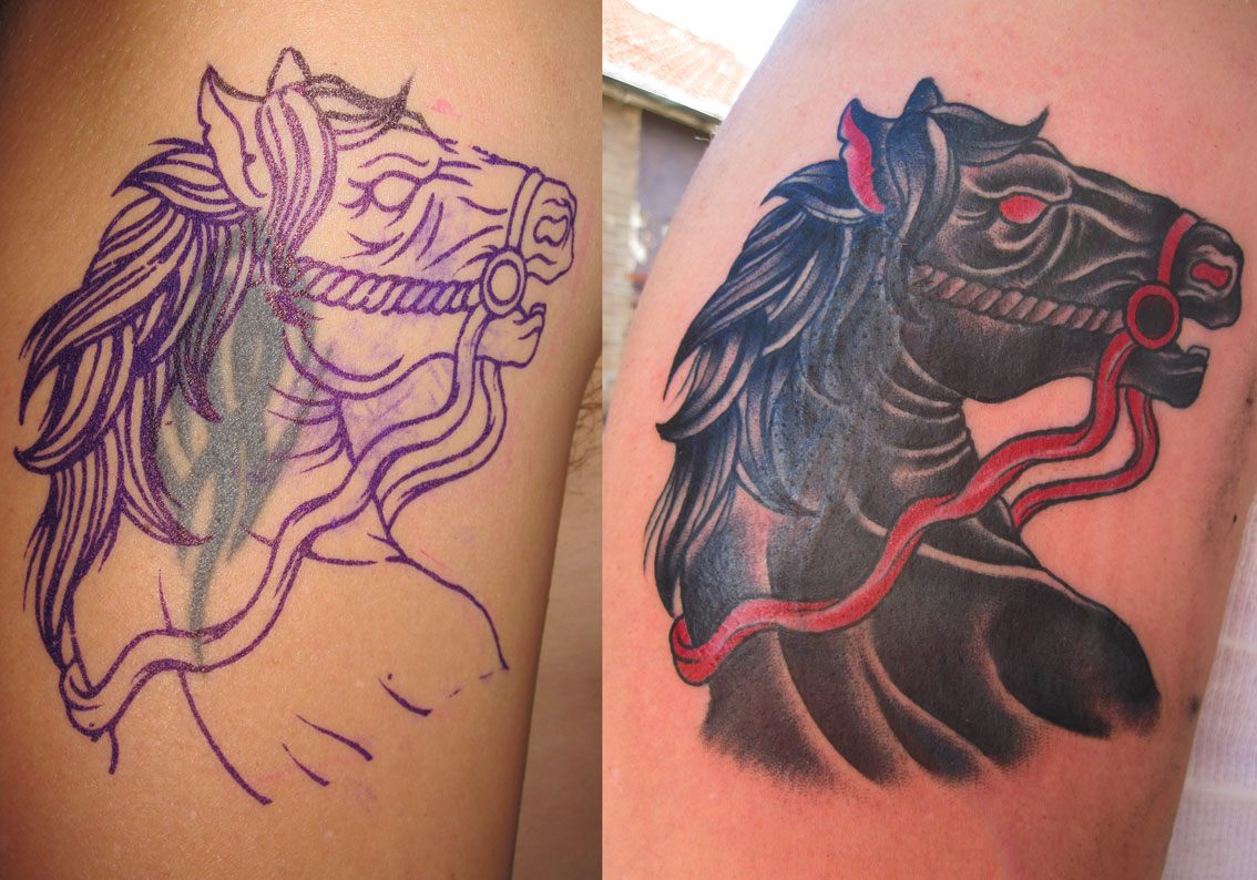 Art: Japanese art tattoos have