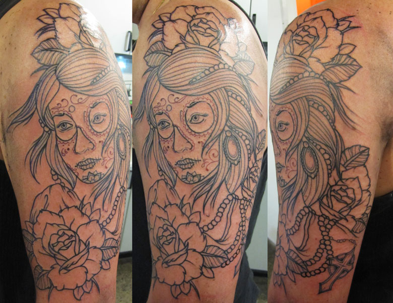 day of the dead girl pictures. day of the dead girl. tattoo